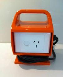 Powertech 15A to 10A Converter Adapter & RCD f