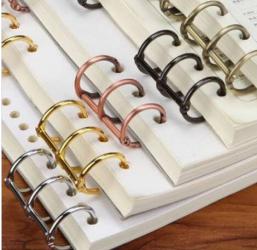 Metal Table Calendar Ring/ 3 Rings Binder