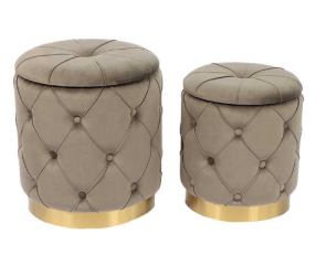high quality newest design Round seated cloth foot